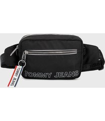 canguro negro-blanco tommy jeans