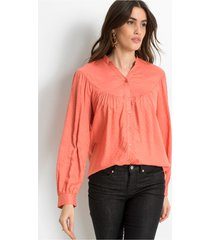 blouse met structuur