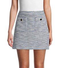 perseus tweed mini skirt