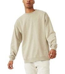 cotton on men's pigment dyed oversized crew sweater