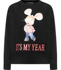 alberta ferretti its my year sweatshirt