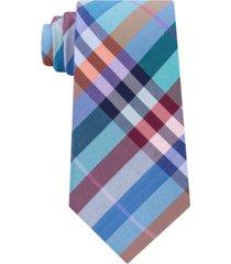 tommy hilfiger men's darien plaid tie
