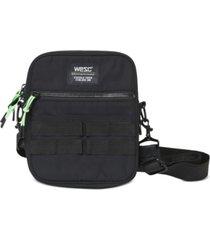 wesc men's utility crossbody bag