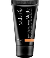 base marrom 01 vult matte pele mista a oleosa make up - incolor - feminino - dafiti