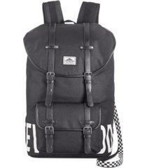 steve madden men's logo utility backpack