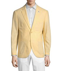 parker linen cotton sport jacket