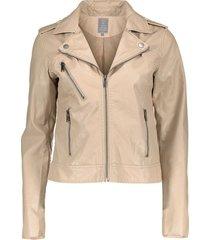 08020-27 jacket pu with zippers