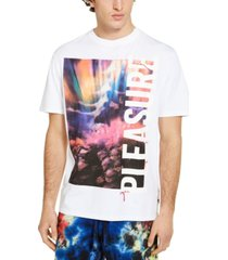 guess men's oversized pleasure graphic t-shirt