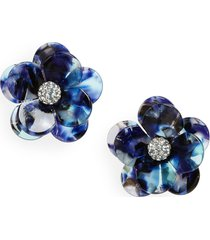 women's lele sadoughi poppy stud earrings