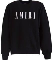amiri logo sweatshirt
