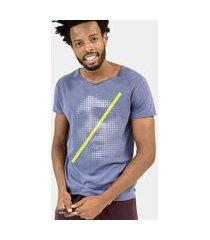 camiseta jay jay premium stone corte a fio saint dots azul