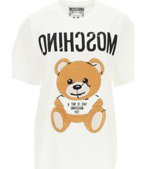 moschino oversized t-shirt inside out teddy bear