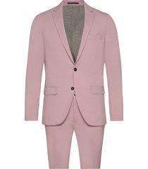 plain mens suit pak roze lindbergh