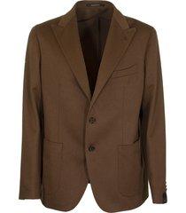 tagliatore camel two-button jacket blazer