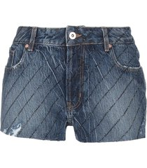 fap filles a papa denim shorts