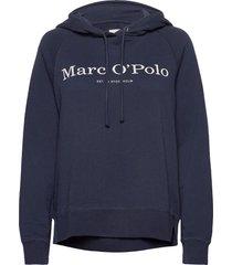 sweatshirts hoodie blå marc o'polo