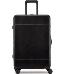 calpak medium hue 26-inch rolling suitcase - black