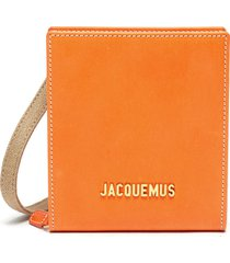 'le gadjo' logo embellished leather pouch