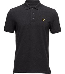 polo shirt polos short-sleeved svart lyle & scott
