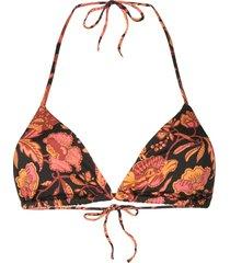 matteau string bikini top - black