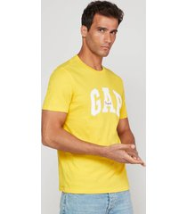 camiseta amarillo-blanco gap