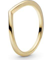anel chevron pandora shine™