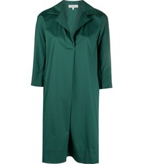 antonelli poplin shift dress - green