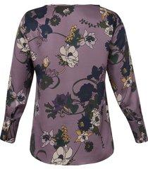 blouse van elena miro paars