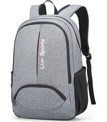 oxford casual travel student laptop laptop borsa zaino da viaggio