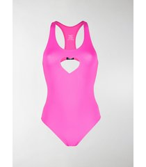 vetements heart cut-out swimsuit