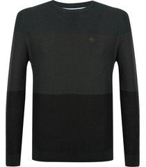 blusa dudalina manga longa tricot degradê masculina (vinho, xgg)