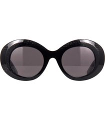 balenciaga balenciaga bb0120s black sunglasses