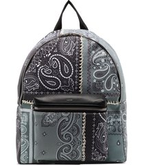 amiri bandana-print backpack - black
