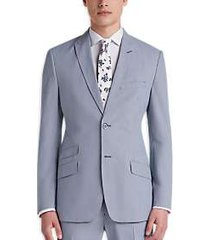 ben sherman blue pincord stripe extreme slim fit suit