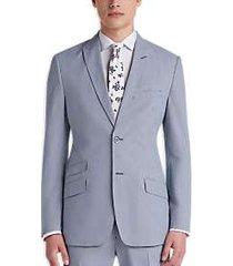 ben sherman blue pincord stripe extreme slim fit suit