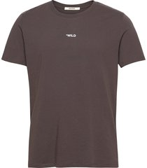 ted hc photoprint wild tshirt print dos t-shirts short-sleeved brun zadig & voltaire