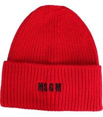 msgm acrylic hat