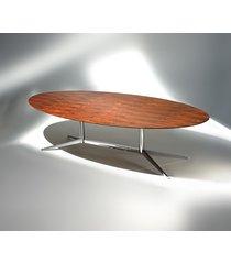mesa fk2 oval (coluna dupla)