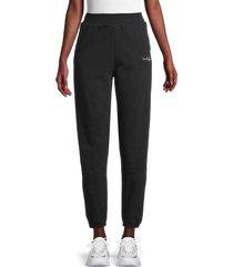 true religion women's high-rise jogger pants - onyx - size s