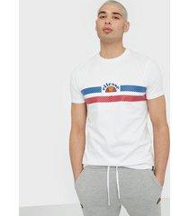 ellesse el lori tee t-shirts & linnen white