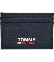 tommy hilfiger men's tommy jeans credit card holder twilight navy -