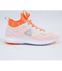 tenis para mujer  reebok  pump plus tech bd4870 - naranja