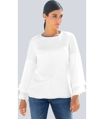 blouse alba moda offwhite
