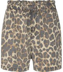 shorts met panterprint chloe  dierenprint
