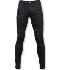 skinny jeans true rise biker jeans ripped -