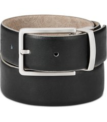 tallia men's paisley suede reversible belt