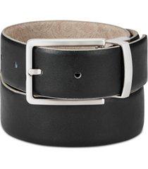 tallia men's paisley suede reversible belt