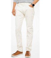 mk jeans slim-fit - ecru - michael kors