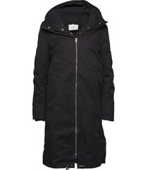 steal coat fodrad rock svart just female