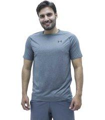 camiseta gris under armour tech 2.0 ss tee novelty